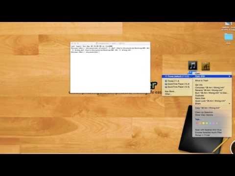 Cómo usar el terminal para convertir archivos de audio en tonos de llamada en OS X