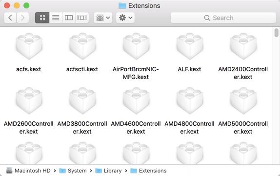 Comprensión de las carpetas de sistema de tu Mac