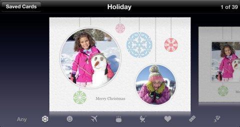 Envía una tarjeta de felicitación personalizada este año con estas aplicaciones[Mac, iOS]
