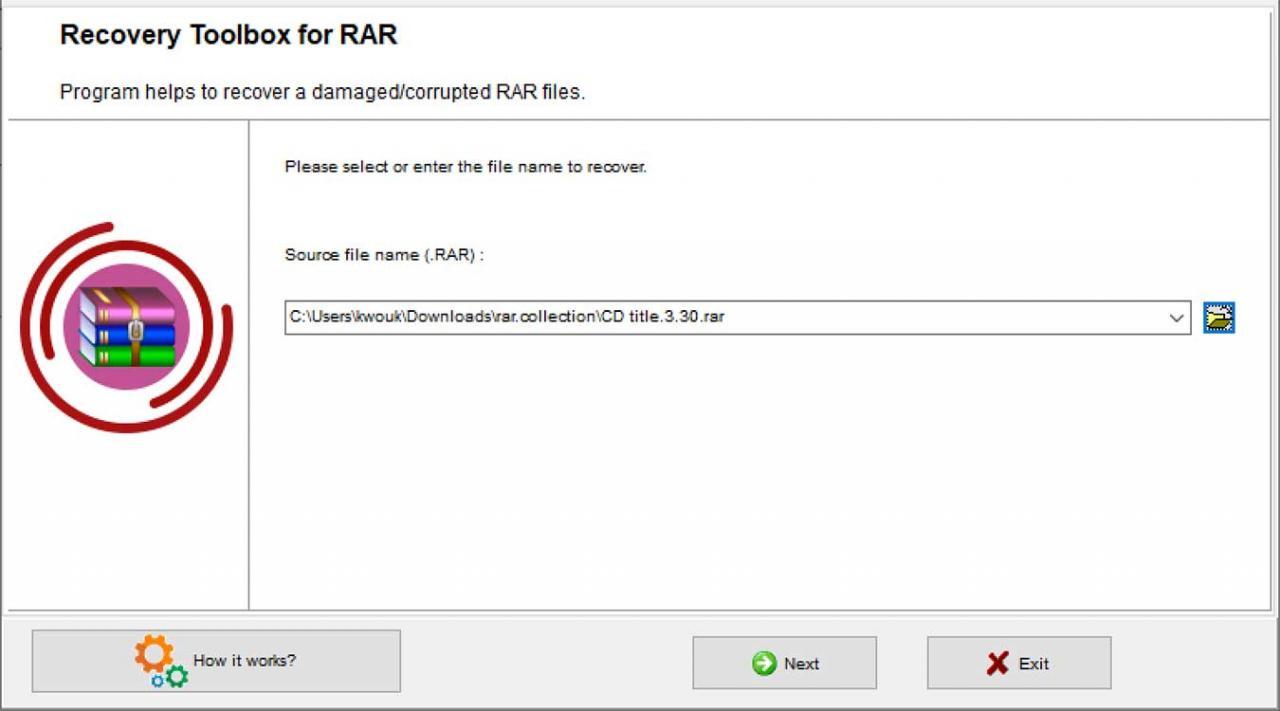 Guarde sus recuerdos archivados con Recovery Toolbox para RAR. En caso de que un RAR esté lo suficientemente dañado, es posible que no pueda recuperar ninguno de los archivos. Esto es lo que hace que Recovery Toolbox para RAR sea útil.