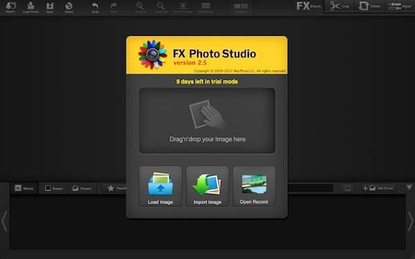 La reseña de FX Photo Studio[Mac]