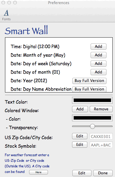 Smart Wall: Personaliza tu fondo de pantalla con información útil[Mac]
