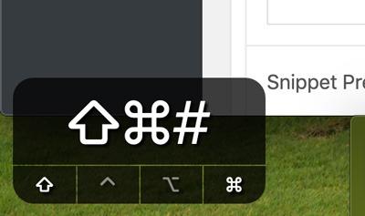 Cómo mostrar las pulsaciones de teclas en pantalla en macOS