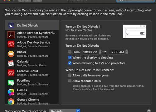 Cómo usar No Molestar en tu Mac