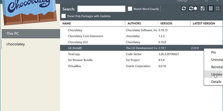 Cómo usar Chocolatey para instalar y actualizar fácilmente programas Windows