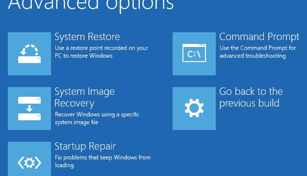 3 maneras de abrir las opciones de inicio avanzado en Windows 10