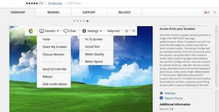 4 de las Mejores Extensiones de Escritorio Remoto para Chrome