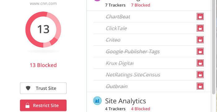 2 Complementos de Firefox simples y efectivos para evitar que los sitios te rastreen
