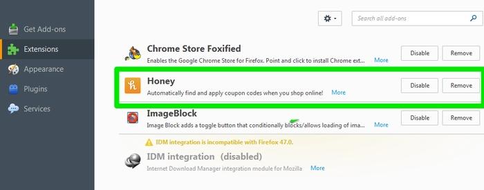Usando las extensiones Chrome en Firefox y Opera