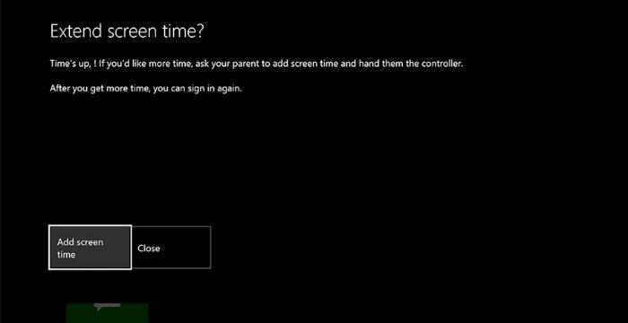 Cómo limitar el tiempo de pantalla en Xbox One