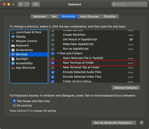 Cómo abrir cualquier carpeta en Finder desde un terminal Mac