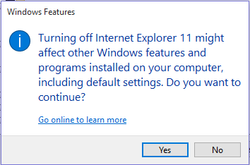 Cómo desactivar Internet Explorer en Windows 10Es probable que no use Internet Explorer 11 en su equipo. No se puede desinstalar, pero se puede desactivar Internet Explorer en Windows 10. Averigüe cómo.