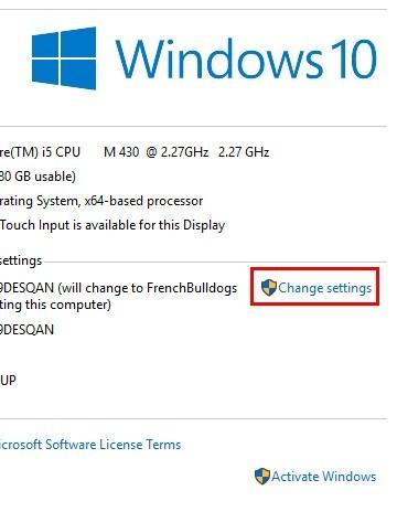 Cómo cambiar el nombre del equipo en Windows 10. Existen varias formas de cambiar el nombre del equipo en Windows 10. Las opciones para cambiar el nombre del equipo son rápidas y sencillas. He aquí cómo puede hacerlo.