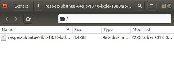 Cómo ejecutar Ubuntu 18.04 o 18.10 en Raspberry Pi