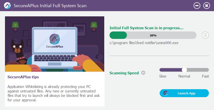 SecureAPlus: Un programa antivirus gratuito basado en la nube con el poder de 12 motores antivirus (Revisión y sorteo)
