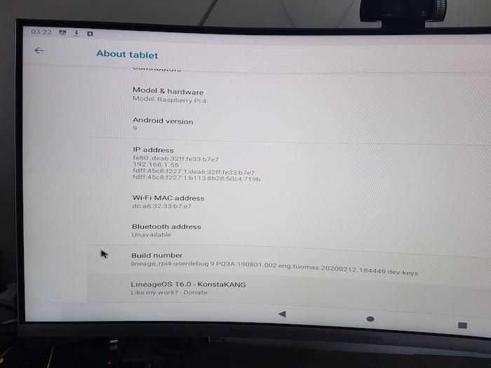 Cómo instalar Android 9 en la Raspberry Pi 4