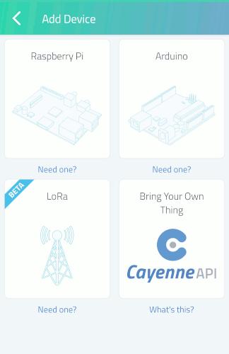 Cómo poner en marcha proyectos Raspberry Pi con Cayenne