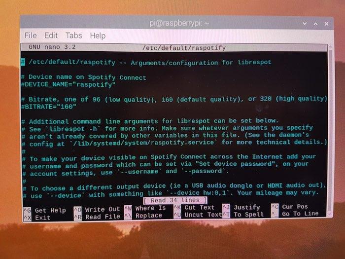 Cómo configurar Spotify Connect en la Raspberry Pi